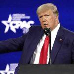 Trump reaparece